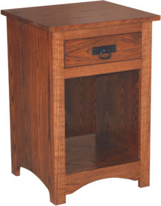 Shaker Open Shelf Nightstand