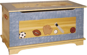 Shaker Style Toy Box - Painted Design