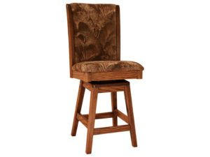 Sherita Hardwood Swivel Bar Stool