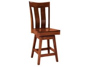 Sherwood Hardwood Swivel Bar Stool