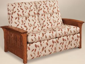Skyline Slat Reclining Loveseat