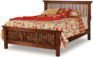 Stick Mission Low Footboard Bed