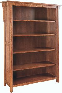 Straight Royal Mission Bookshelf