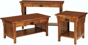 Straight Royal Mission Occasional Table Collection