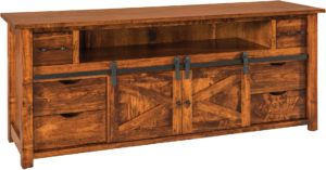Teton Barn Door TV Cabinets