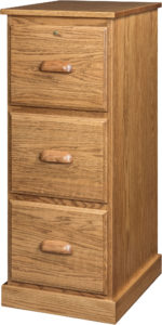 Letter Size Amish File Cabinet