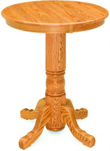 Traditional Round Pub Table