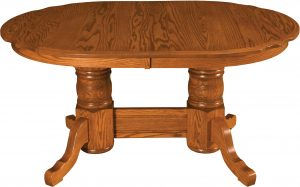 Traditional Scalloped Table