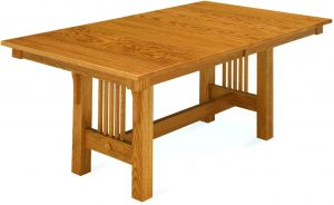 Trestle Mission Style Table
