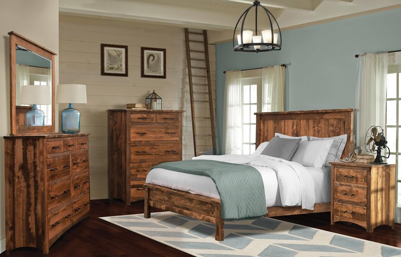 Uptown Barn Floor Mission Bedroom Collection Weaver Furniture S