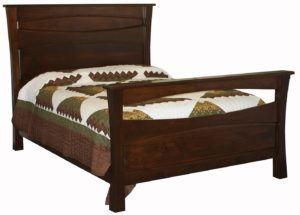 Vandalia Hardwood Bed