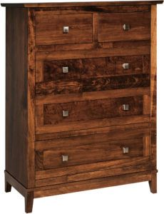 Venice Tall Desk Chest