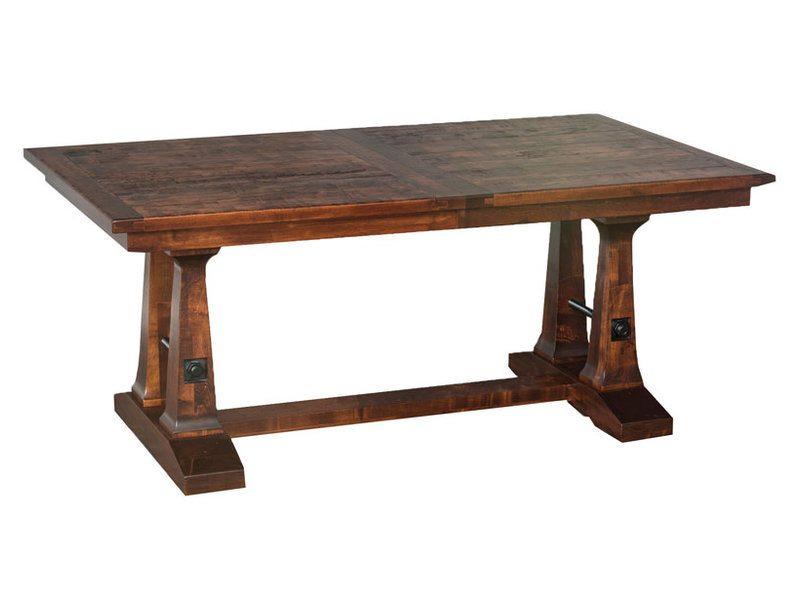 Vienna Trestle Dining Room Table | Amish Vienna Trestle Dining Table