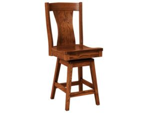 Westin Hardwood Swivel Bar Stool