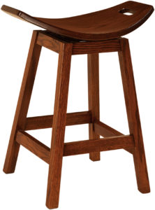 Wilford Swivel Amish Bar Chair