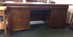 Castlebury Executive Desk Ready for Pick Up