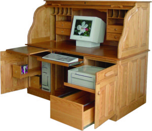 Heirloom Deluxe Roll Top Desk