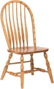 Bent Feather Bow-Back Chair