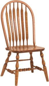 Bent Paddle Bow-Back Chair