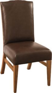 Bow River Leather Dining Chair