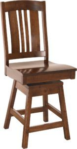 Carolina Swivel Hardwood Barstool