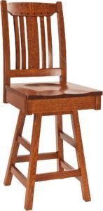 Grant Solid Wood Barstool