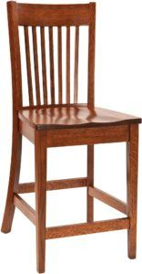Mill Valley Amish Bar Chair