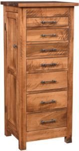 Rough Sawn Alpine Jewelry Armoire