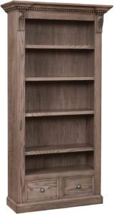 Grand Manor Wood Bookcase