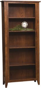 Wright Mills Wood Bookcase