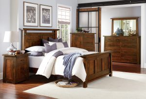 Encada Hardwood Bedroom Collection