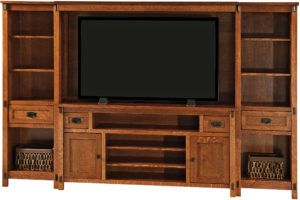 Rio Mission TV Wall Unit