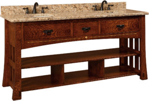 Mesa Double Sink Cabinet