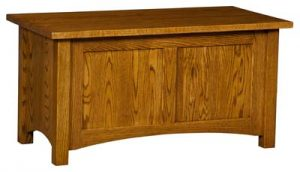 Classic Mission Paneled Cedar Chest