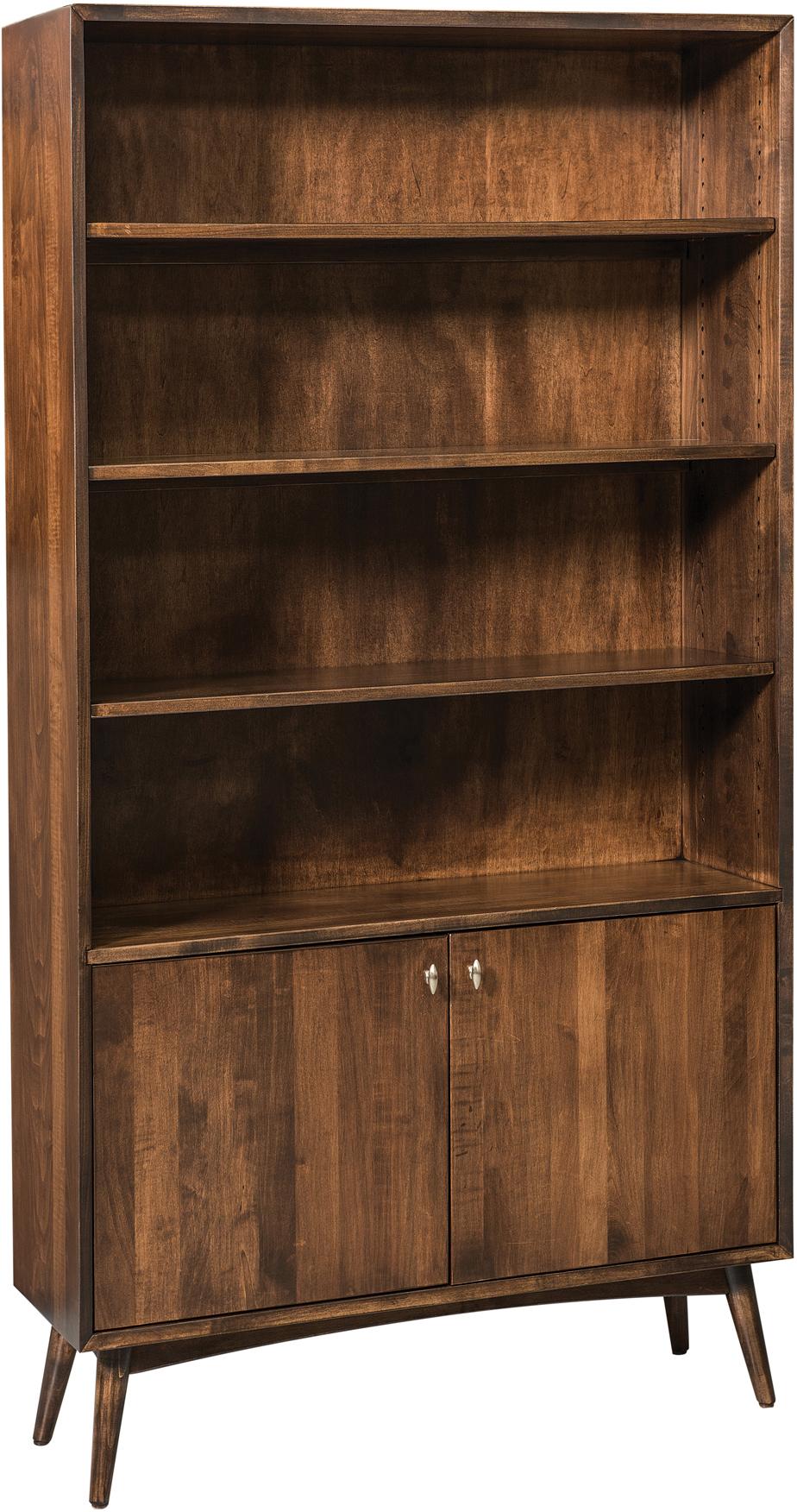 Century Solid Wood Bookcase Custom Amish Century Bookcases
