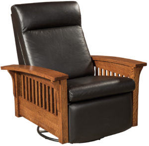 Hoosier Glider Swivel Recliner