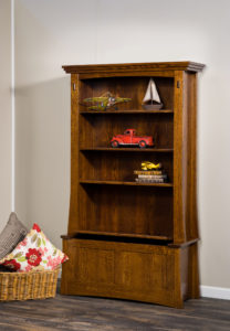 Modesto Wood Bookcase