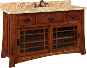 Morgan Wide Single Sink Cabinet