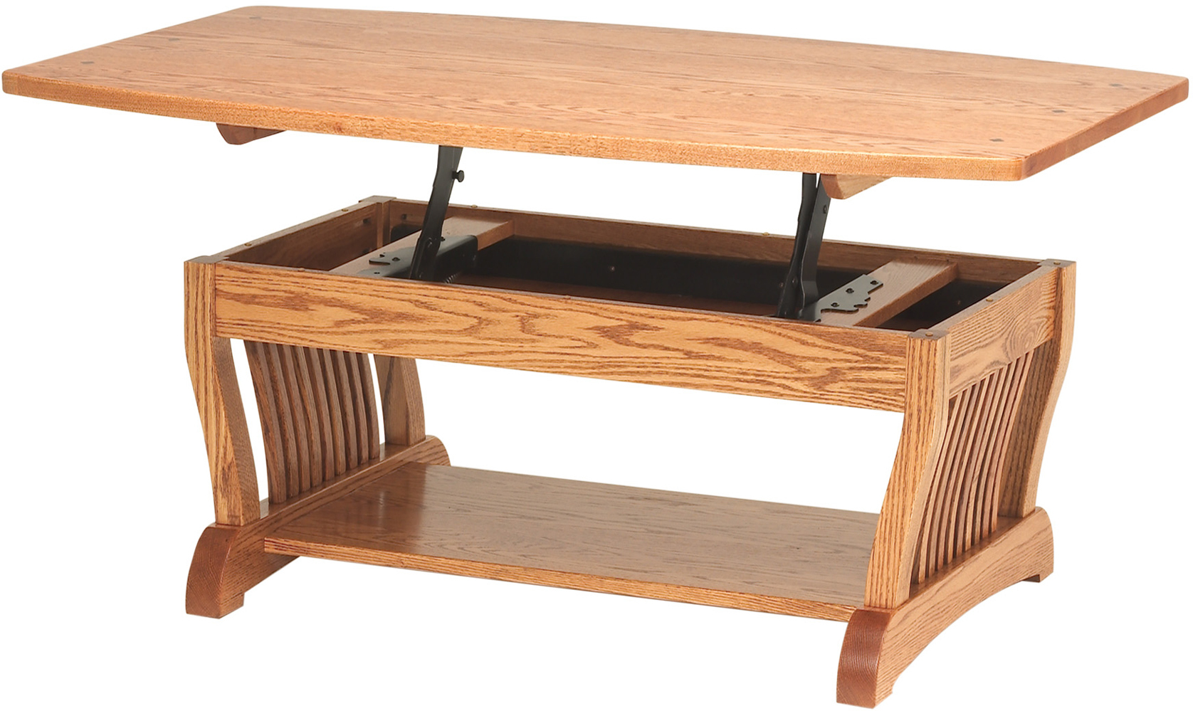 Royal Mission Coffee Table With Lift Top Custom Amish