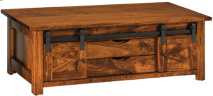 Teton Barn Door Coffee Table