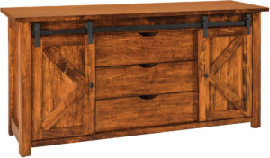 Teton Barn Door Sofa Table