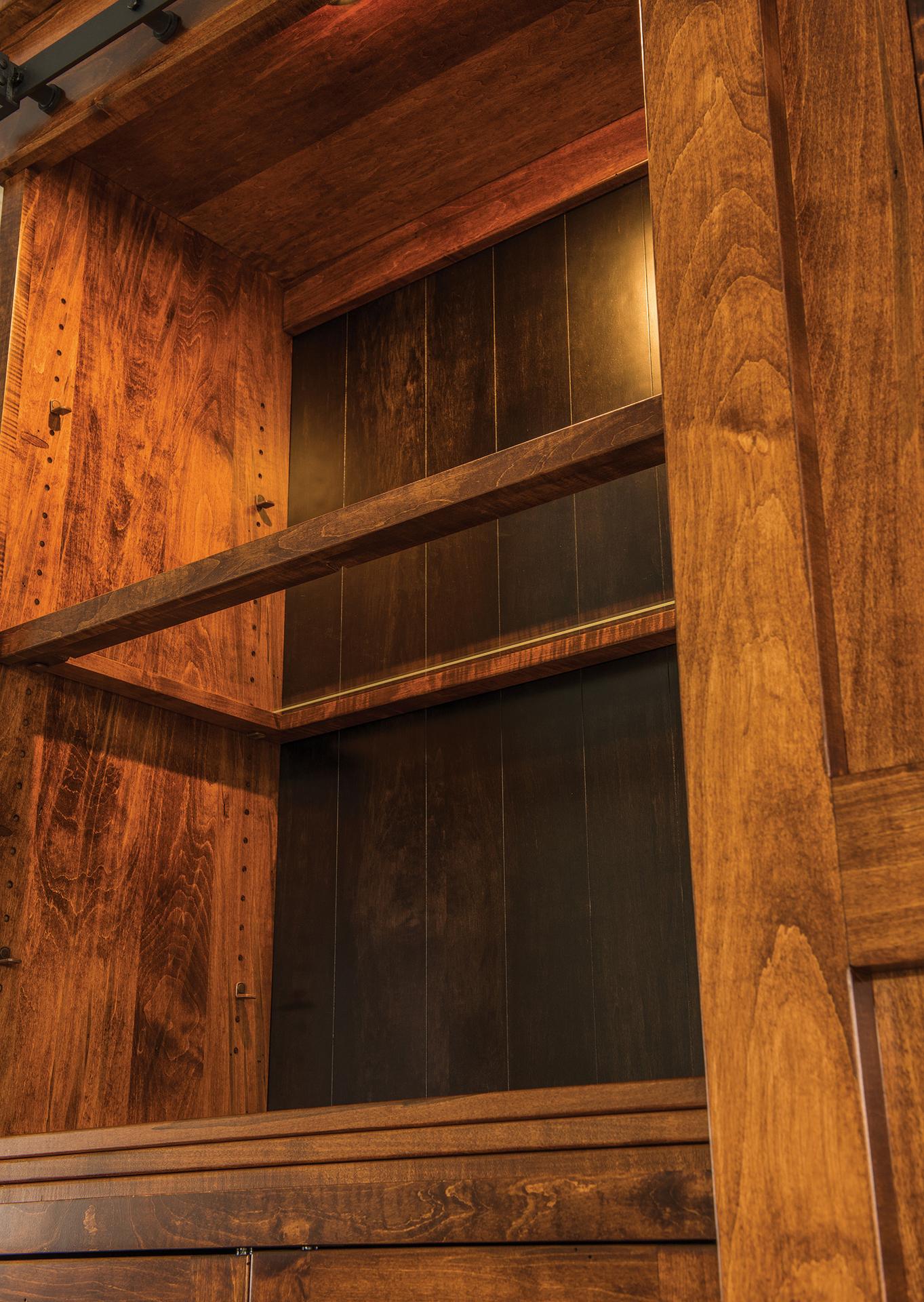 Teton Barn Door Wall Unit Custom Amish Teton Barn Door