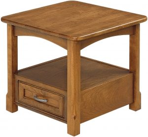 West Lake Cherry Open End Table