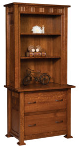 Keystone Lateral File Cabinet and Hutch