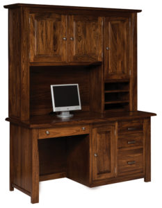 Mondovi Computer Desk and Hutch