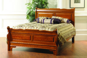 Berkshire Scalloped Sleigh Bed