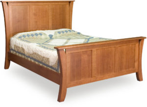 Caledonia Three Panel Bed