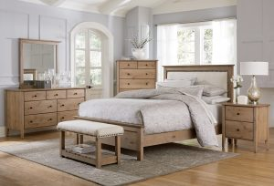 Medina Knotty Alder Bedroom Set