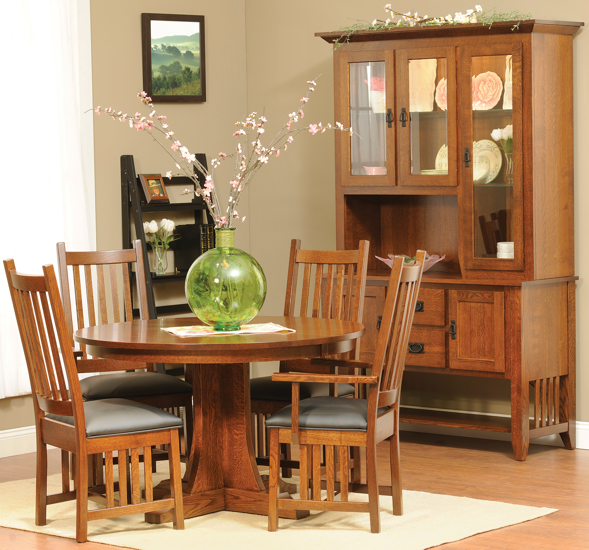 mission dining room sets | Mission Dining Collection | Custom Mission Dining Room Set