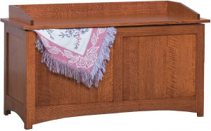 Schwartz Mission Hardwood Blanket Chest